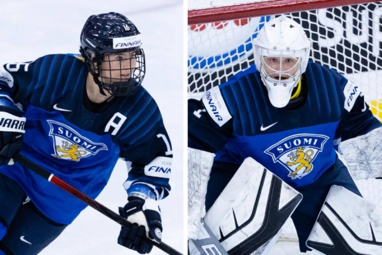 Kaksi suomalaista naisten MM-kisojen tähtikenttään