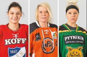 Passard, Noronen, Suokko... Tässä Naisten Liigan alkusarjan parhaat pistenaiset jokaisesta joukkueesta