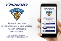 Äänestä Suomen otteluiden Lentävin Leijonapelaaja ja voit voittaa matkan jääkiekon MM-kisoihin Tanskaan!