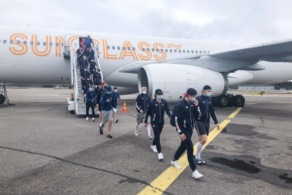 Pikkuleijonien MM-joukkue palasi lauantaiaamuna kotimaahan