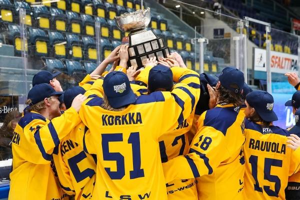 Viipurin Reipas -palkinto 2021 Rauman Lukon U20-mestarijoukkueelle