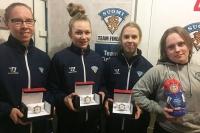 Ahola, Laitinen ja Holopainen Suomen parhaat pelaajat tyttöjen MM-kisoissa