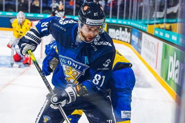 """Hyökkääjä Jukka Peltola Ruotsi-voiton jälkeen: """"Hyvä peli kokonaisuudessaan"""""""