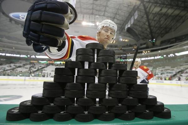 Yli 1000 NHL-ottelua!